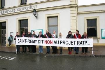 Non au projet RATP