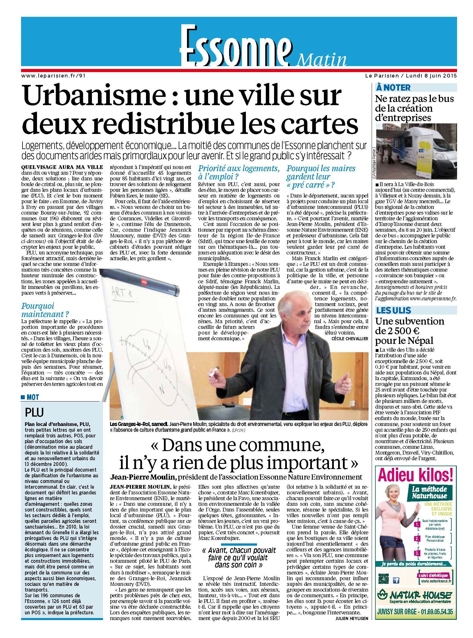 Parisien Essonne JPMoulin PLU